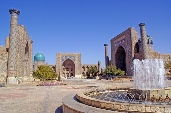 samarcande en ouzbekistan